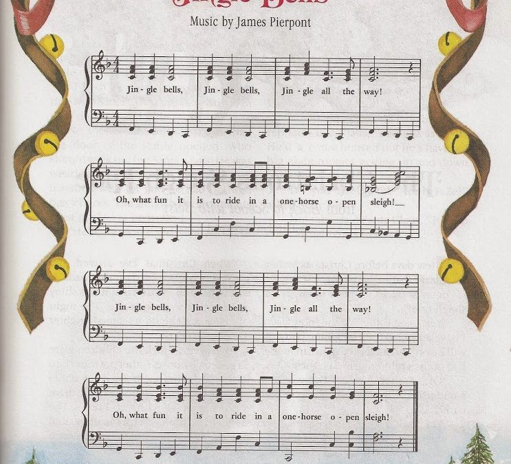 On the 21st Day of Advent, 2014 — JINGLE BELLS