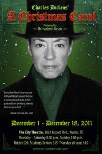 Bernadette Nason stars in A Christmas Carol