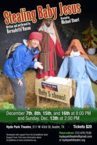 Stealing Baby Jesus Poster