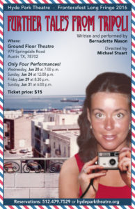Bernadette's Tales from Tripoli Poster